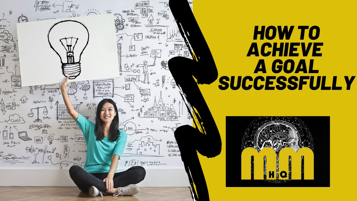 Great new post on how to achieve a goal successfully   #achieveagoal #goaloftheday #success #mindset