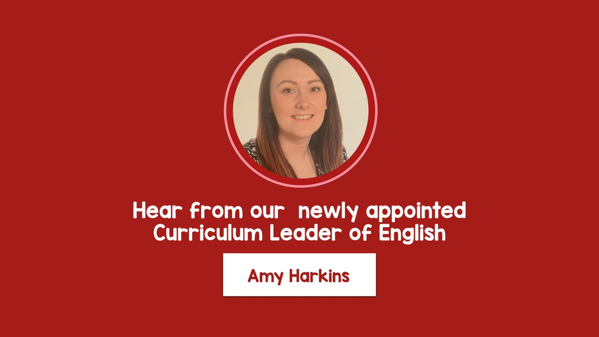 "Meet our NEW TASE team member!  Click the link to hear from our newly appointed Curriculum Leader of English, Amy Harkins 🤩💬 https://t.co/jZslNvL9dS  ""I am extremely thrilled to join #TeamTrinity and to start my role as Curriculum Leader of English at TASE"" #Barnsley"