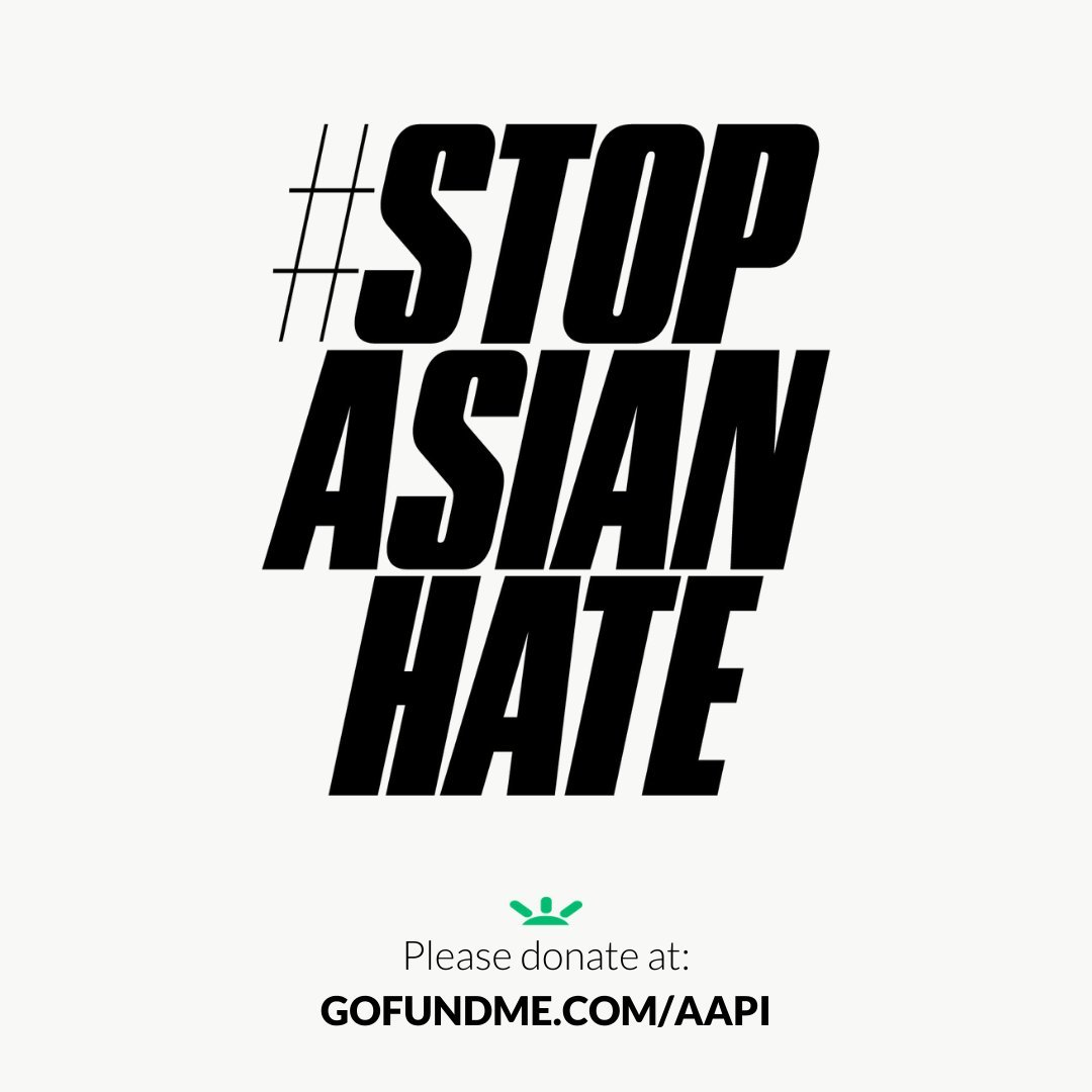 "Brands and advertisers show support in the wake of racist attacks. Using the #StopAsianHate hashtag, Nike pledged ""$500,000 to 20 nonprofits that support Asian American, Middle East, and Pacific Islander communities.""  @nike #AAPI #support @gofundme"