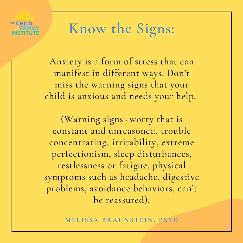 Know the Signs...  #EvidenceBasedCareForAll #HelpingEveryChildThrive #askforhelp #coronarelief #covid19 #coronavirus #childfamilyinstitute #equity
