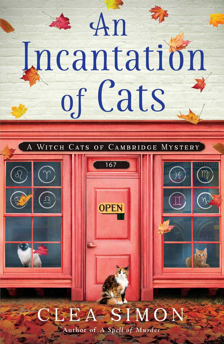 """""""This book was fabulous! I loved going along with Becca as she grew and matured ..."""" Readers rave about AN INCANTATION OF CATS on sale now in ebook/hc  #CatsofTwitter #CozyMysteries #Cozies @PolisBooks #ebook"""