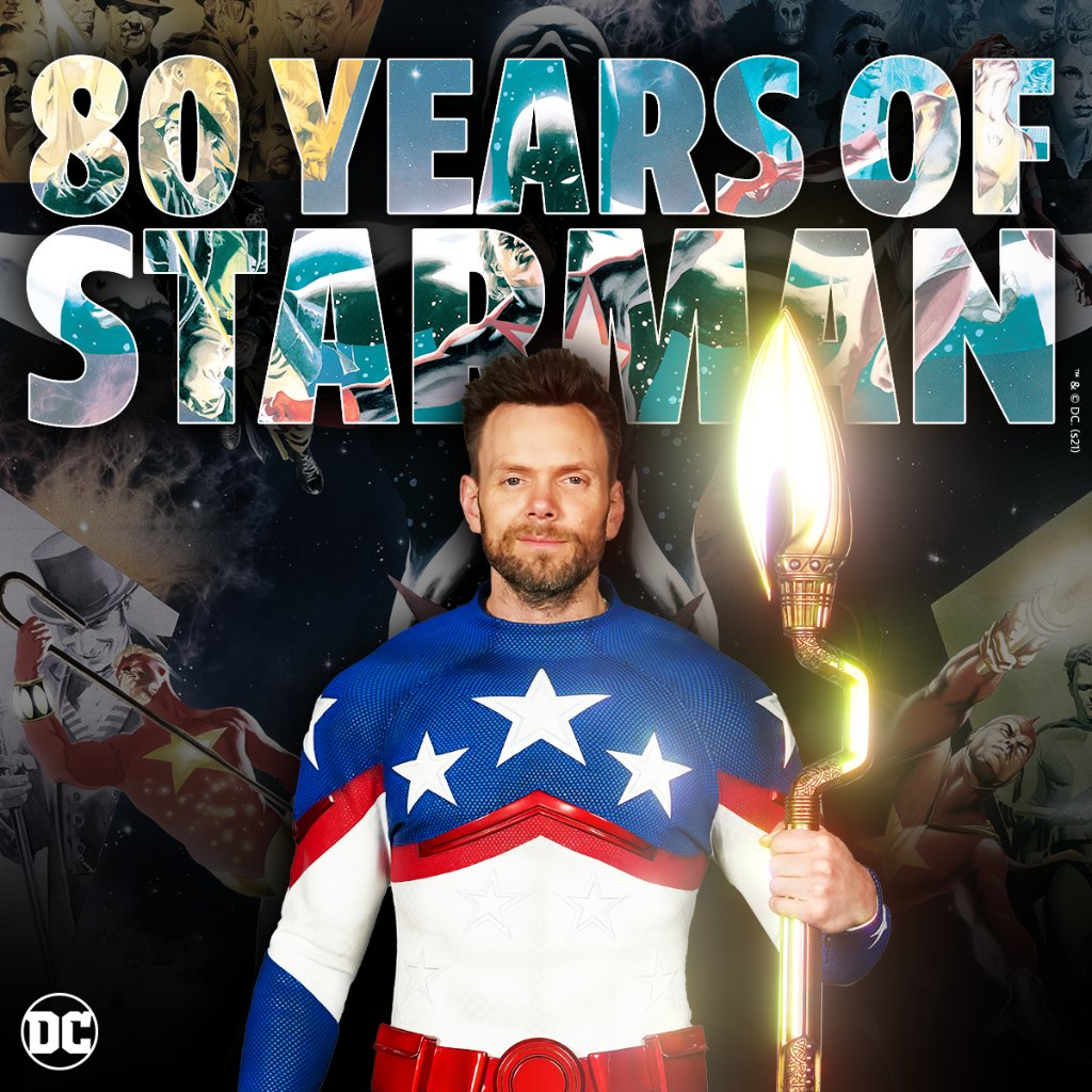 Still shining bright after all these years 🌟 Who's ready to celebrate Starman's 80th anniversary? We're looking at you, @stargirl_cw and @hbomax 😉