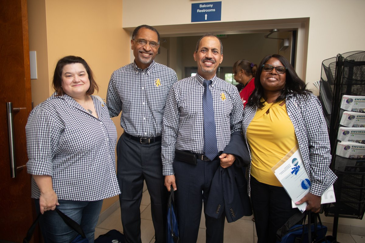 Thank you to all A&T faculty and staff for your dedication and commitment. #EmployeeAppreciationDay #AggiePride