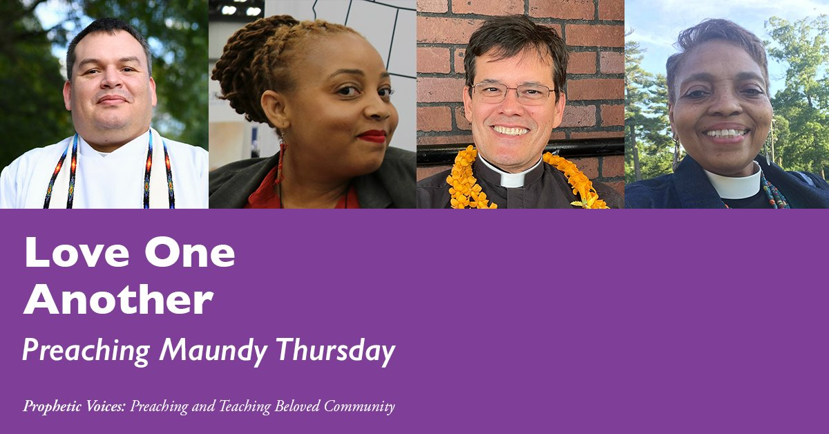 via iamepiscopalian: Prophetic Voices is now live in your favorite podcasting app! In this episode, we speak with Episcopalians committed to the #BelovedCommunity about the lectionary texts for Maundy Thursday. Listen today at  #E…