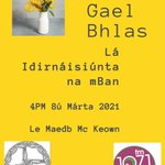 Image for the Tweet beginning: An GaelBhlas le Maedb McKeown 8
