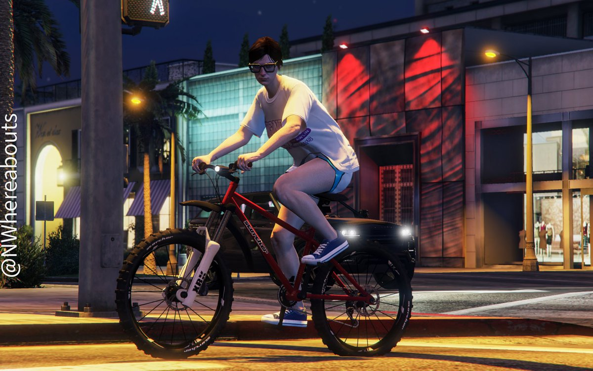 Night (bike) riders #GTAOnline