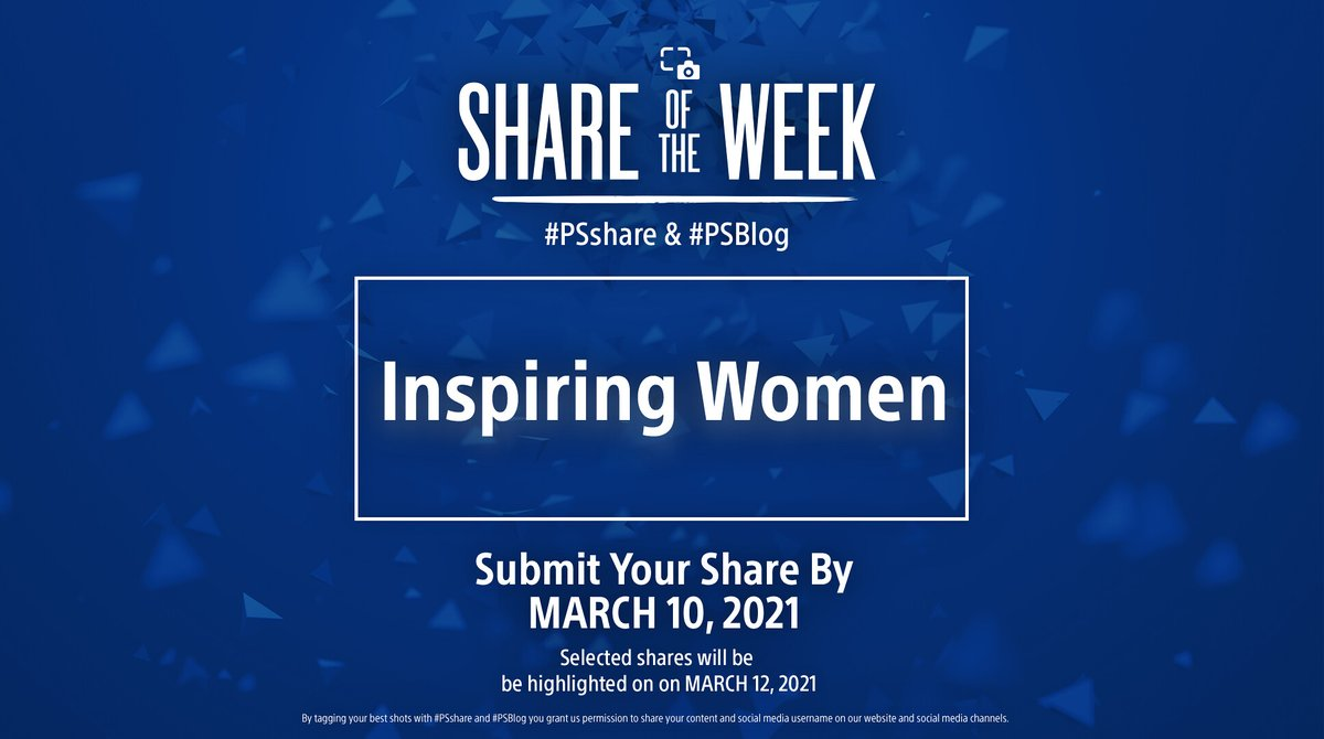 Next week, in honor of International Women's Day we're spotlighting inspiring women in gaming, with a twist! Alongside the share of your favorite heroine (or villain!), share the story of how or why the character inspired you in using #PSshare #PSBlog for a chance to be featured!