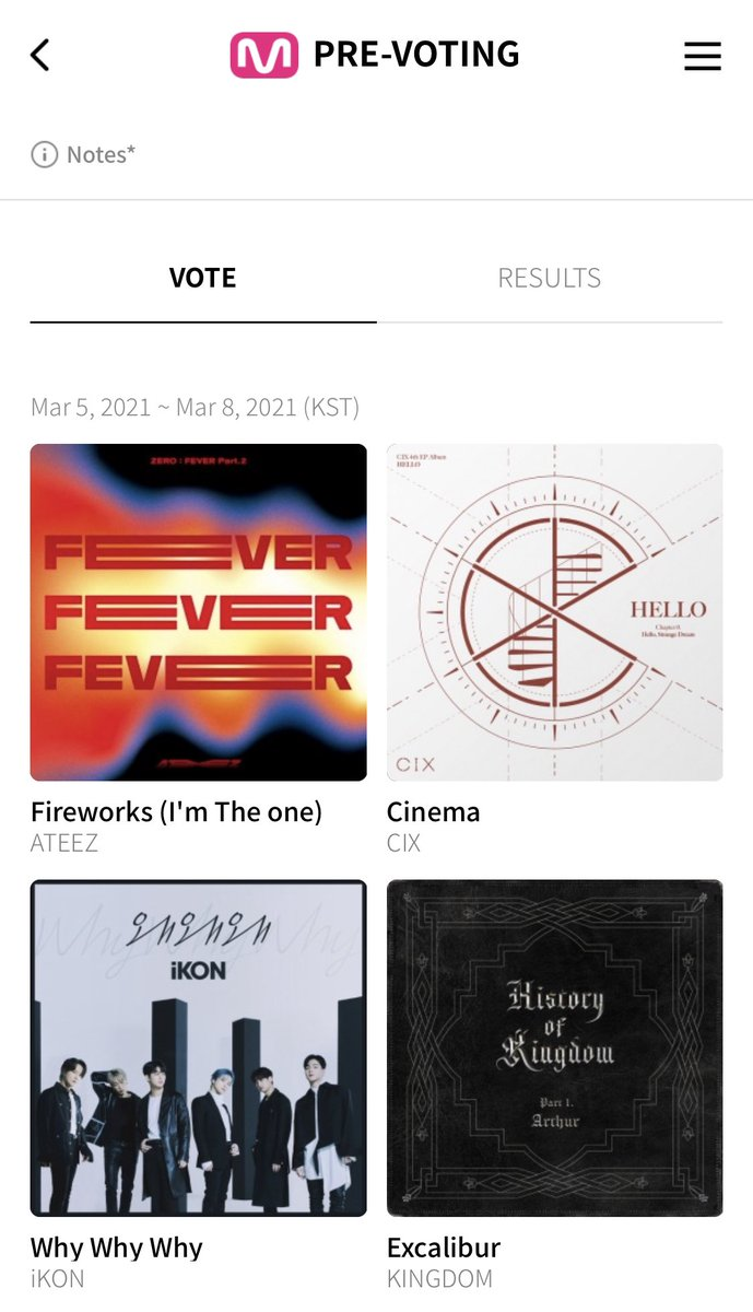 [🗳] M COUNTDOWN Voting on the Mwave app/website has also reset! Don't forget to use all your emails to vote. You can use all the accounts from MAMA voting. The higher our percentage, the more points ATEEZ will get. #ATEEZ #에이티즈 @ATEEZofficial