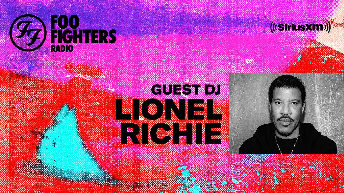 Don't miss my Guest DJ appearance on @foofighters Radio today at 1pm ET! Listen exclusively on SiriusXM: