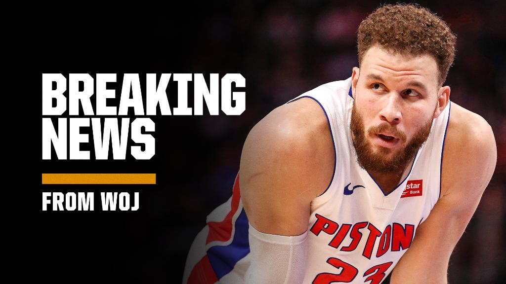 Breaking: Blake Griffin has agreed to a contract buyout with the Pistons and will become an unrestricted free agent, sources tell @wojespn. https://t.co/SLEyXSa11j