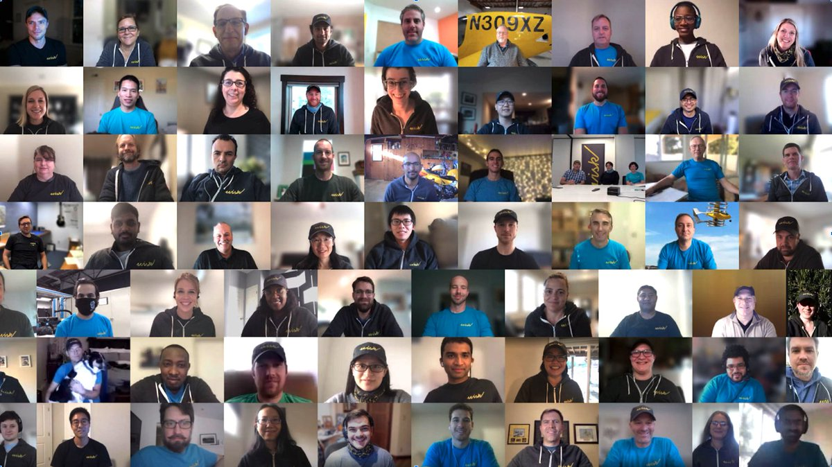 At @WiskAero , our people are our greatest asset and we're incredibly thankful to have such an amazing, dedicated, and smart team. Happy #EmployeeAppreciationDay and thank you for all of the work you do to make everyday flight for everyone a reality!