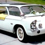 """Image for the Tweet beginning: The """"#Chevrolet"""" #Corvair #Futura Concept"""
