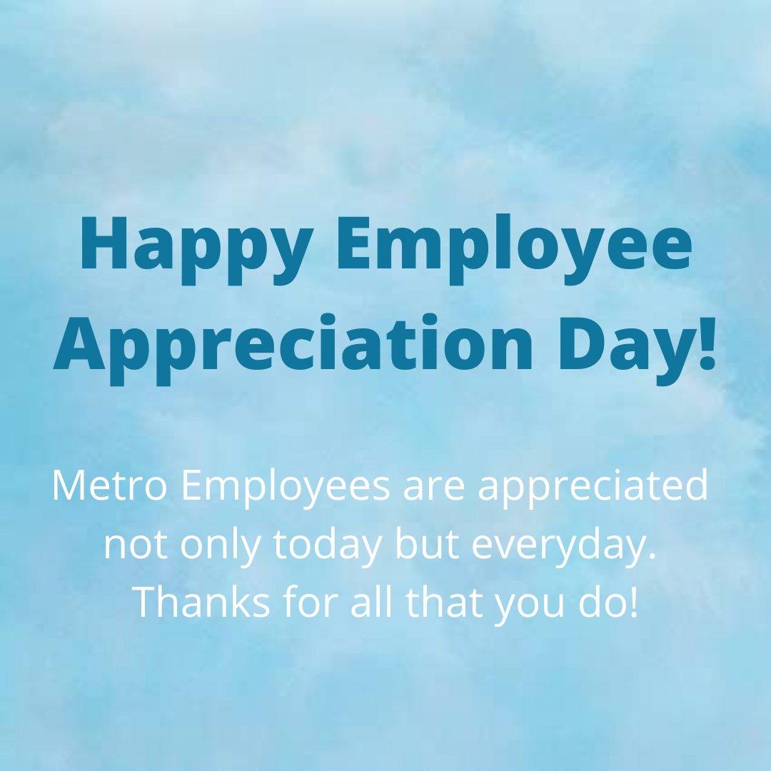 #EmployeeAppreciationDay #Thanks #appreciate #happyfriday #metroair #michigan
