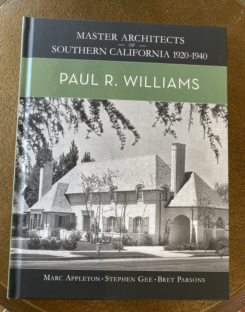 The Paul R Williams book I want is $900😔 I'll have to settle for this one, which is also exquisite, until I win lotto 😁 #blackexcellence #architectofhollywood #paulrwilliams