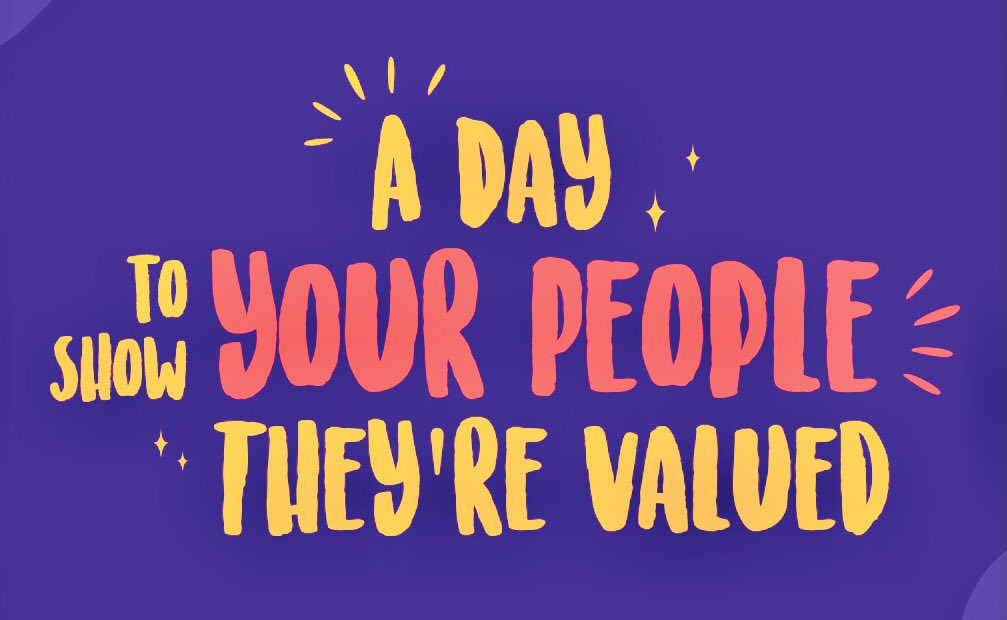 Happy #EmployeeAppreciationDay! Is your org thanking employees for their hard work throughout the year? This day was created for the purpose of strengthening the bond between employer and employee. #EmployeeExperience #EmployerBranding
