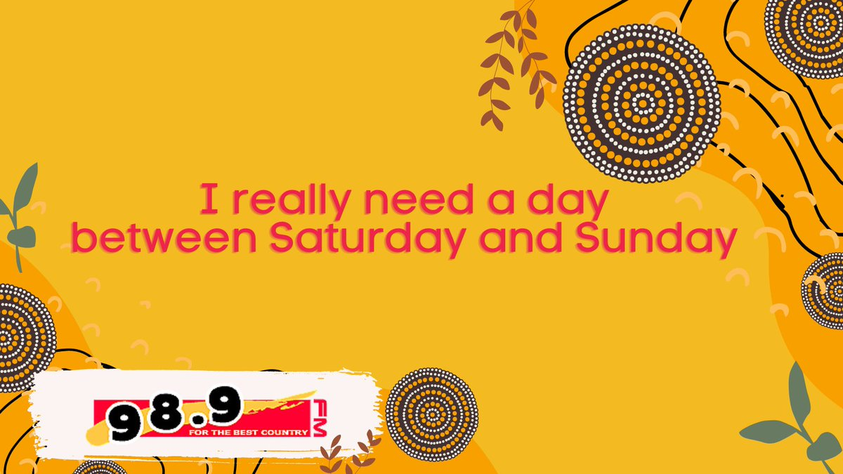 I wish!  Have a safe and happy weekend with your families Brisbane!  🌴👨👩👦🍦🌴👨👩👦🍦  #forthebestcountry #murricountry #brisbaneradio #queenslandradio #communityradio #blackexcellence #weekend #staysafe #familytime #relax #takeabreak #undwindtime #hometime #knockoff #saturday