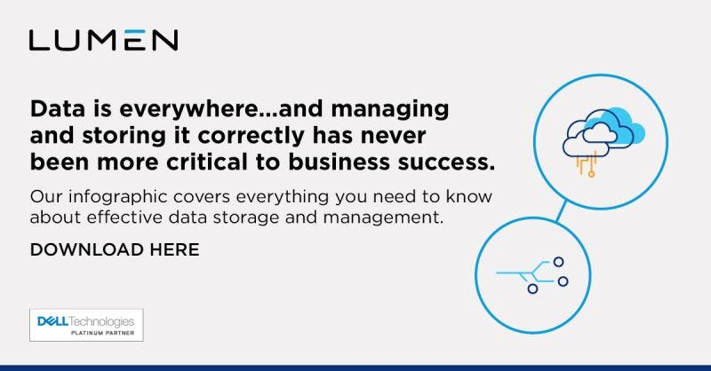 Data is everywhere…and managing and storing it correctly has never been more critical to business success. Our handy infographic covers everything you need to know about effective #datastorage and #datamanagement. Download now: