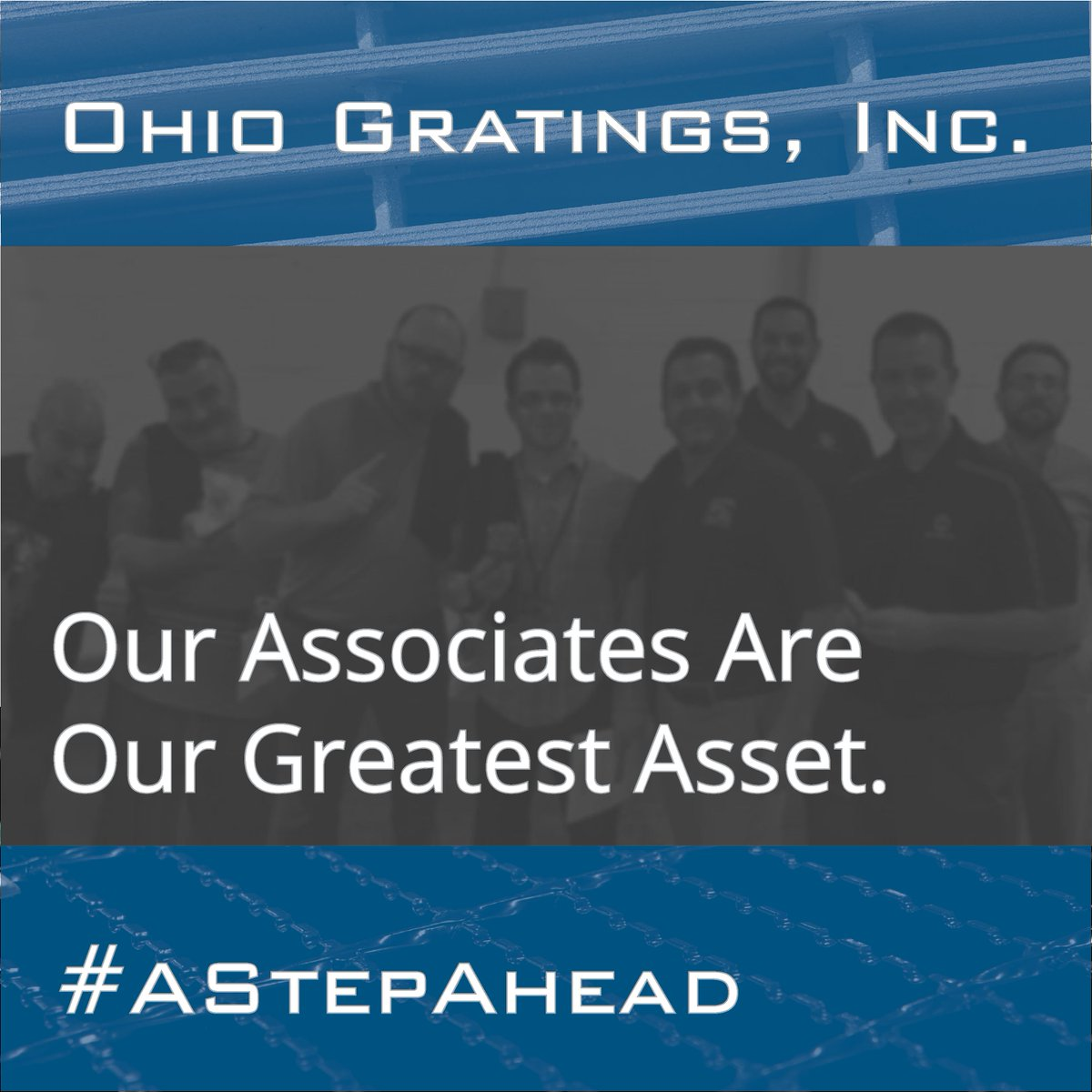 "It's National Employee Appreciation Day! We cherish every one of our associates working with passion every day to ""Make It Right & Ship When Promised."" Thanks for all that you do! #EmployeeAppreciationDay #AStepAhead #ThankYou"