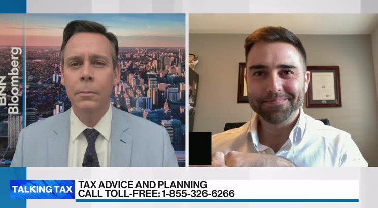 Talking Tax with Tony Salgado, president and founder of AMS Wealth bnnbloomberg.ca/video/~2154891 @greg_bonnell