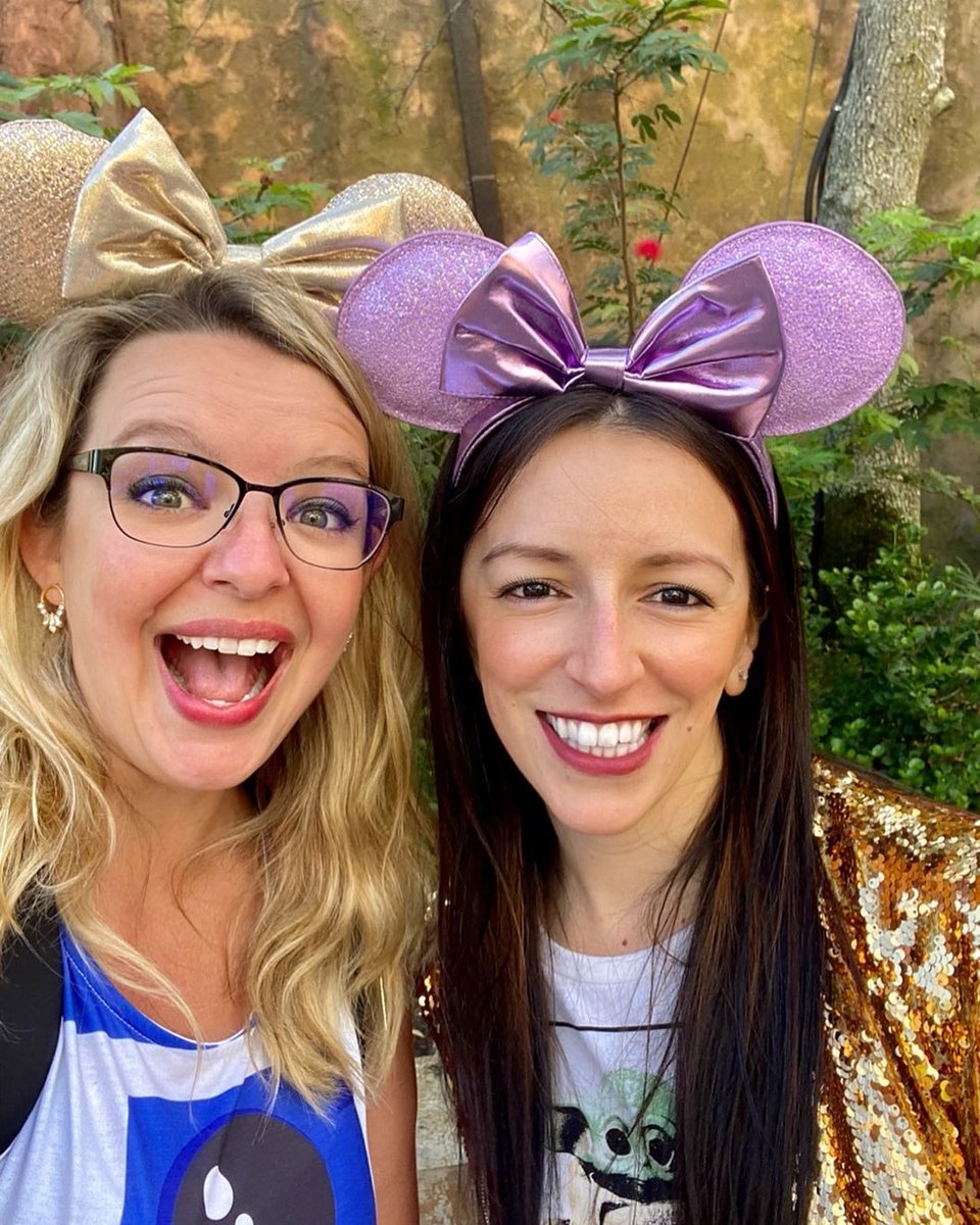 I had an amazing time running around Disney's Hollywood Studios yesterday with one of the best human beings on this Earth!   #DisneyWorld #Disney #disneyparks #Disneyhollywoodstudios #GalaxysEdge #friendship