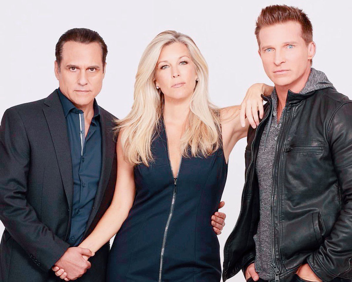 I love these three!!! Iconic trio!!!! #CarSaSon #CarSon #SaSon #Jarly #laurawright #mauricebenard #steveburton #friendship #love #family #promotewhatyoulove #GH