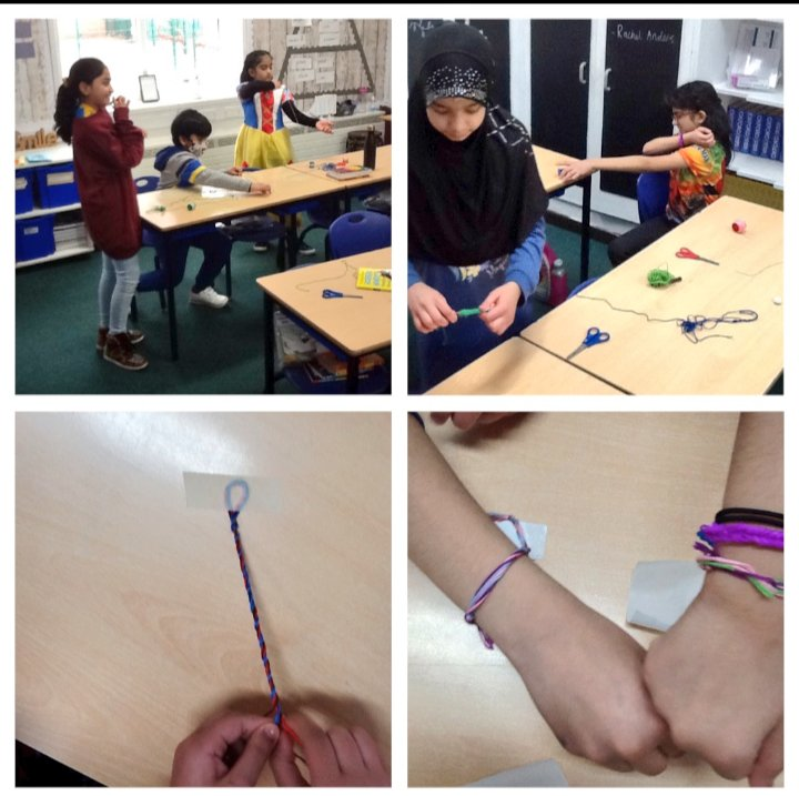 We are really excited to welcome back the rest of 5HD and can't wait to see them on Monday. We also made something to help us remember our time in remote learning... friendship bracelets! #friendship #kindnessmatters #remotelearning #remoteeducation