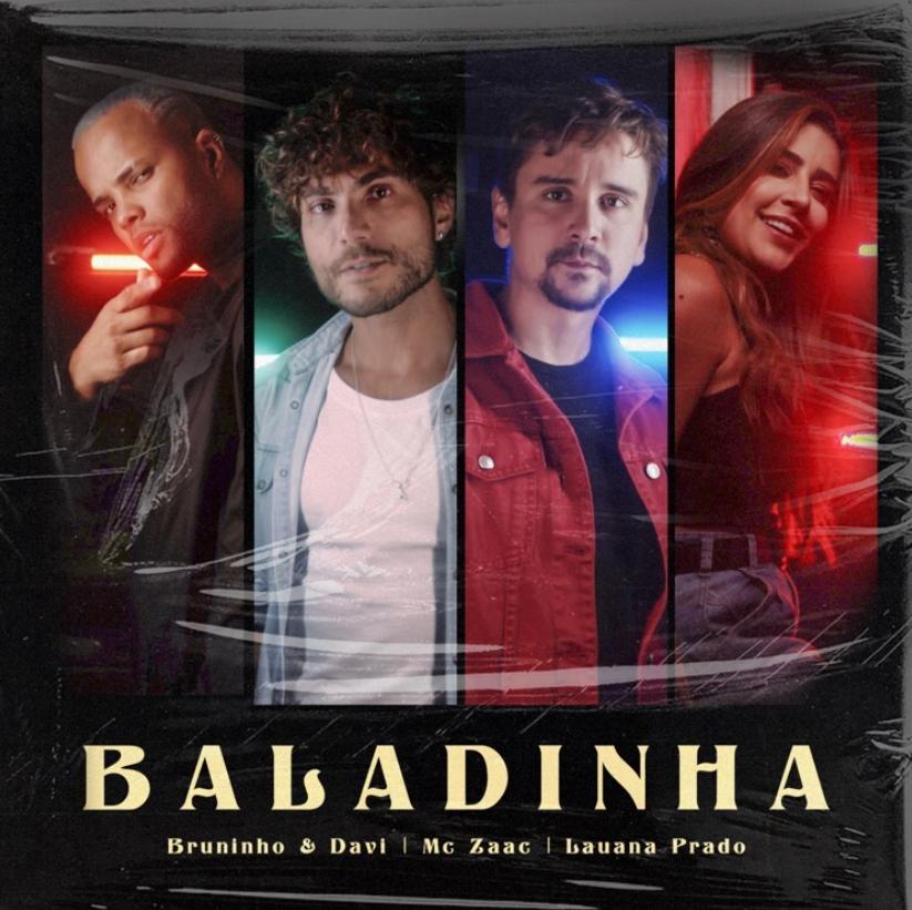 """@BruninhoeDavi lançam o clipe de """"Baladinha"""" em parceria com Lauana Prado e Mc Zaac --> https://t.co/k9W4sKO9va https://t.co/mBjMlxcqpy"""