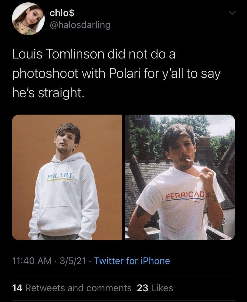 hasn't he said multiple times that he's straight though? why do they hate their fav