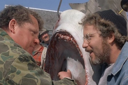 ⏰NEW EPISODE⏰  Another slice of #Jaws action for you! We talk about the excellent acting in this scene & something odd we spotted about the Tiger Shark Guy and his chums...👀   #MXM #MoviesByMinutes #MXMPodcast  LINKS:  SPOTIFY: