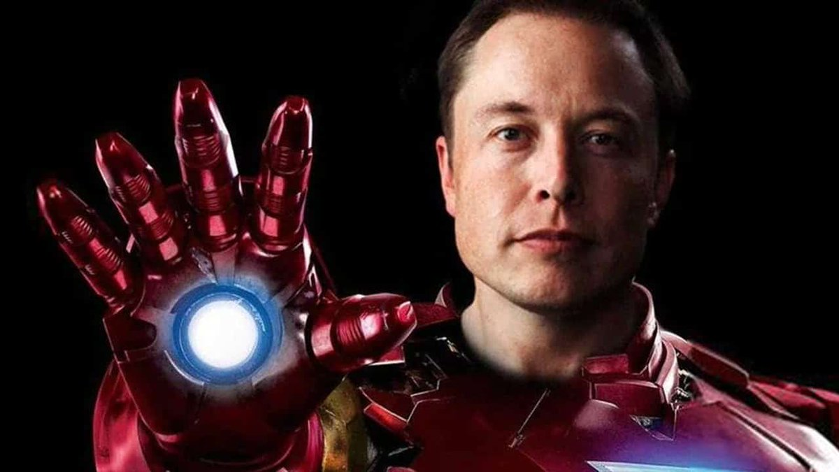 🛩️After Tony Stark died in a Parallel Multiverse the Infinity Glove sent his ghost here.👻 He instinctively possessed #ElonMusk to continue his legacy in our world. Just as he took his first test flight in the Iron Man suit Tony went to Heaven. Elon panicked & crashed!🔥 #RipElon