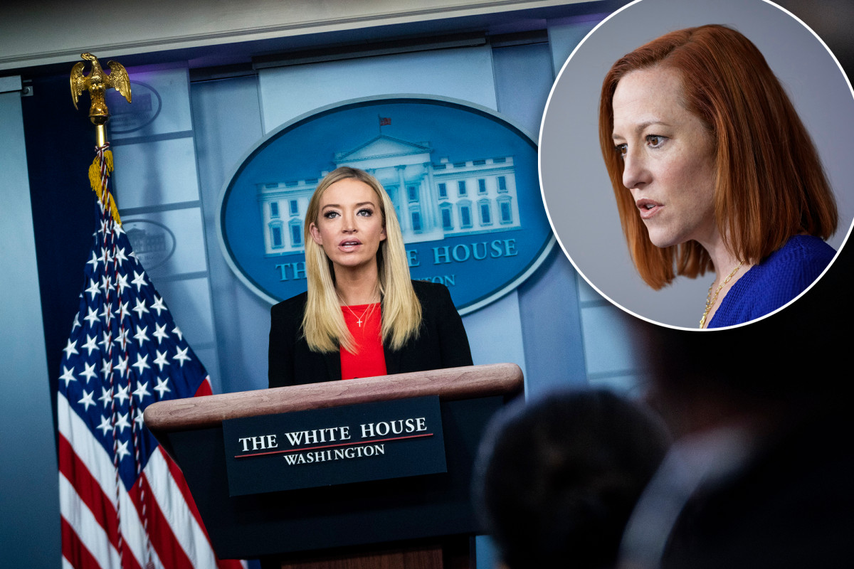 Kayleigh McEnany takes swipe at Jen Psaki for needing to 'circle back' with press