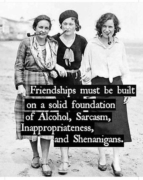 #Friendship #Alcohol #BFF