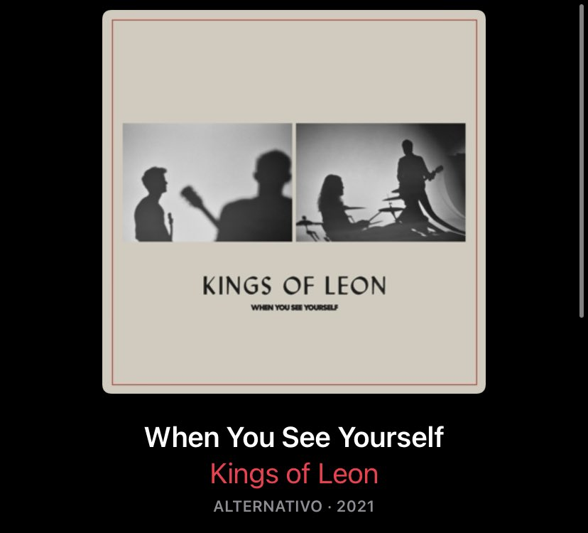i never like kings of leon stuff but let's give this a shot