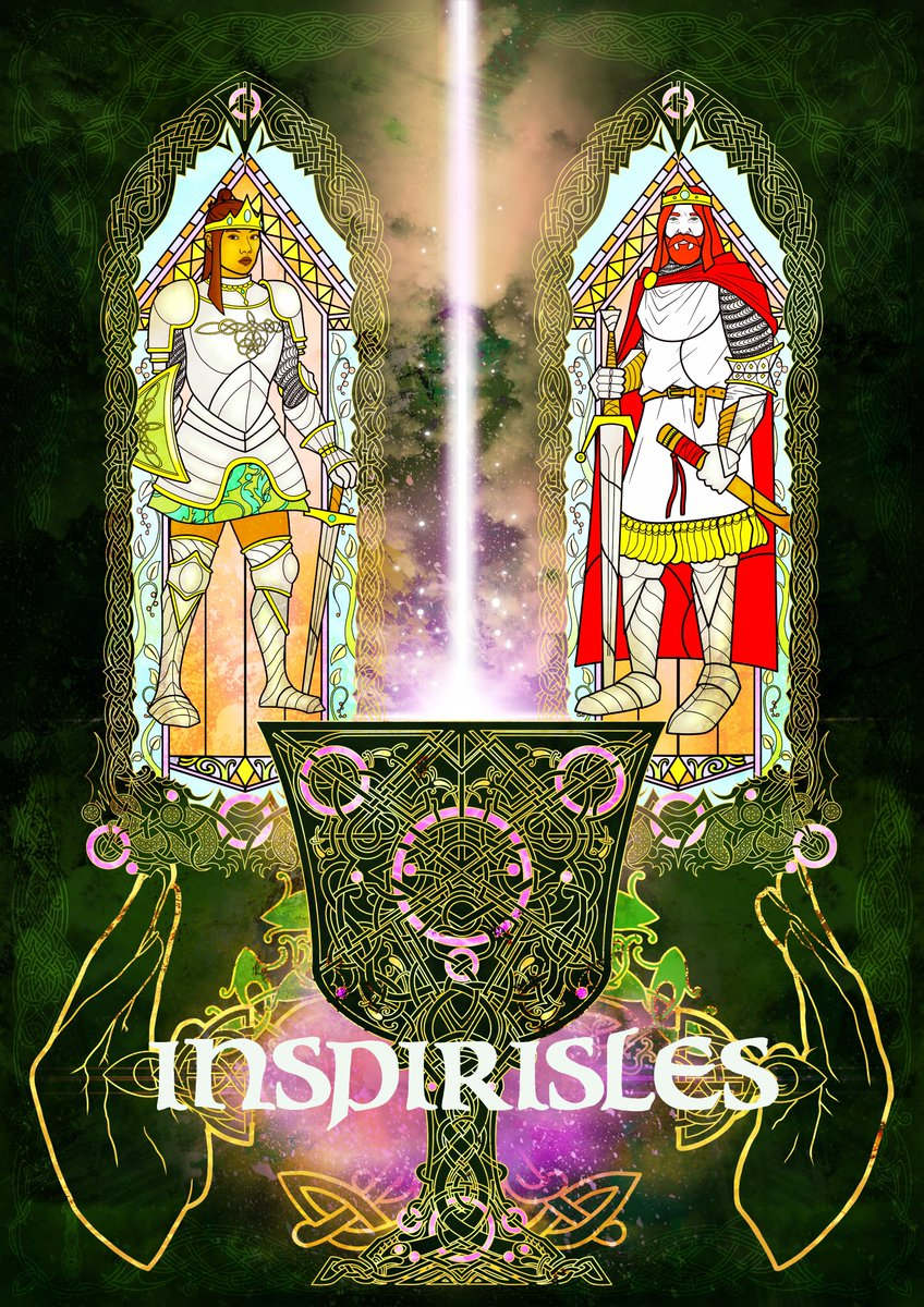 Decided to have an impromptu playtest of #Inspirisles at 8.30pm GMT on our Discord if anyone's interested in a seat?