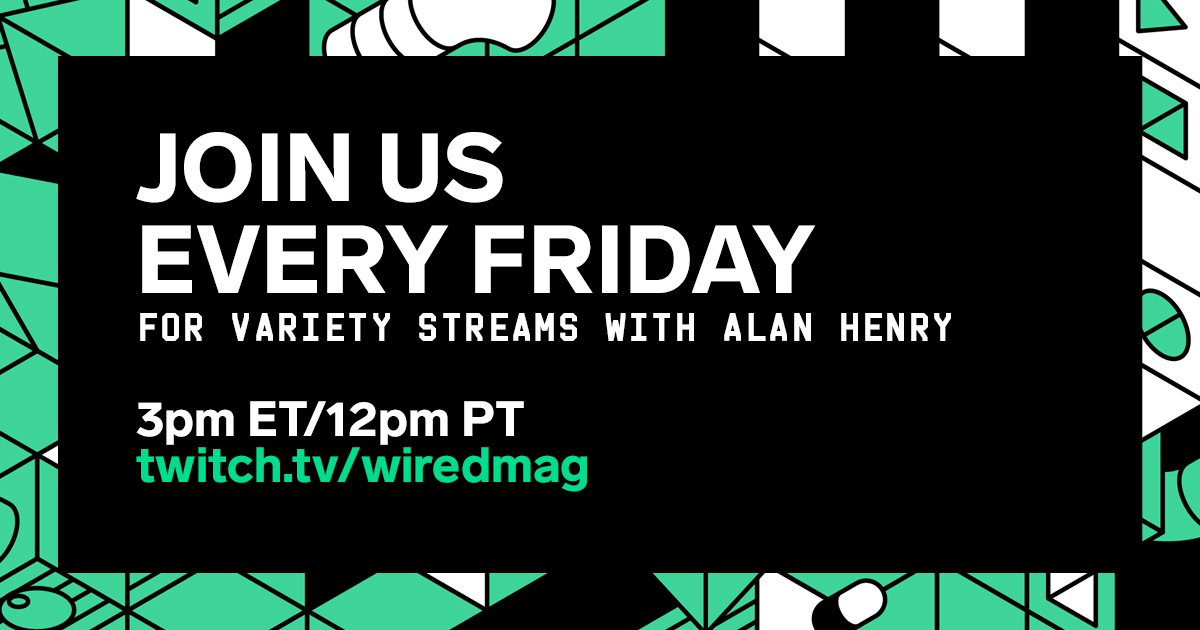 Whatcha doin? Wanna come hang with me? I'll be streaming on the @WIRED Twitch channel in just a few minutes, just to close out the week with some chill-ness, playing Destiny 2 and chatting. Stop by!