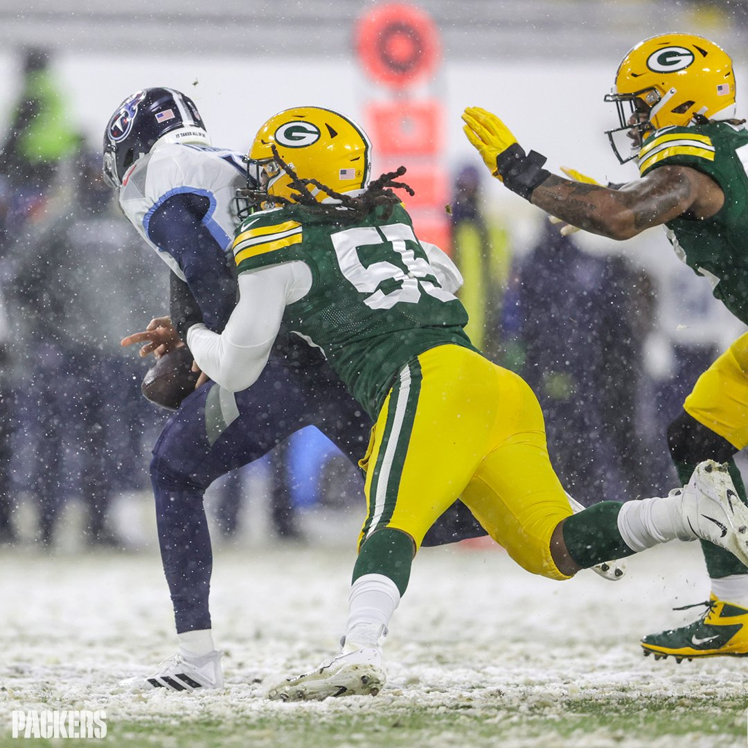 With 12.5 sacks in 2020, Za'Darius Smith recorded the most sacks by a player through their first two seasons with the #Packers (26).  @TheRealZSmith's season in photos 📸:   #GoPackGo