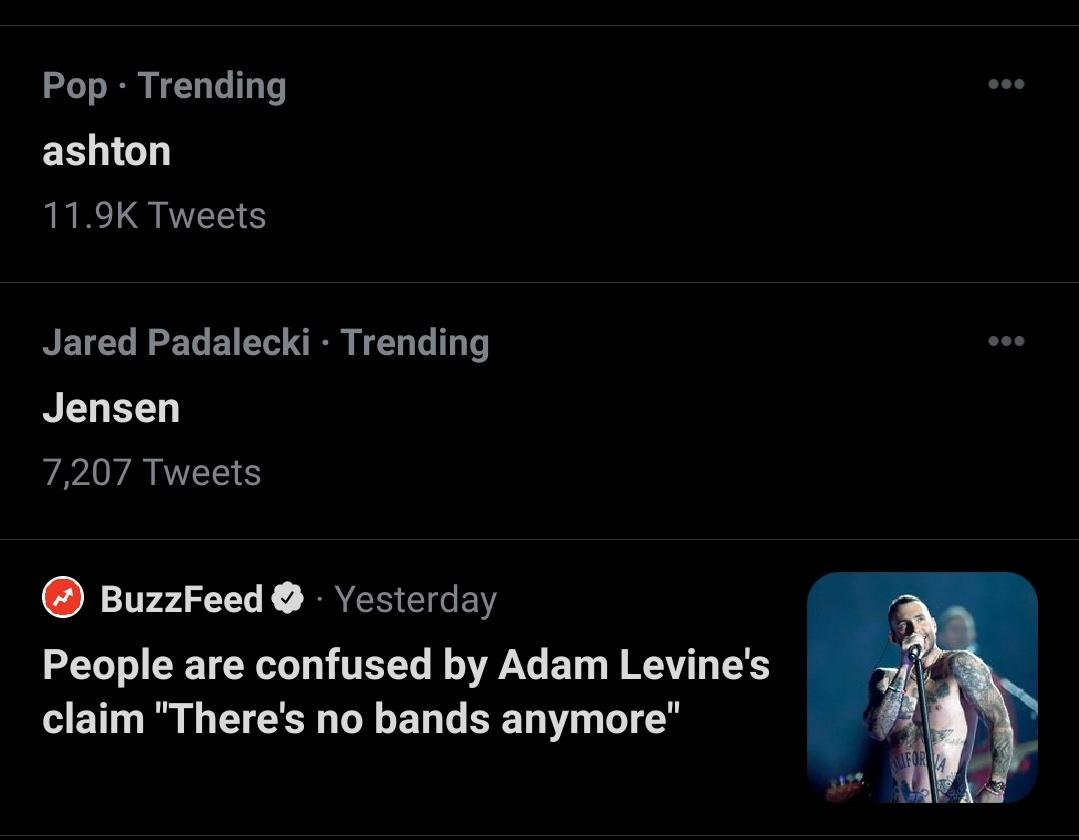 Jensen and Jared trending together 🥰❤️🥰❤️