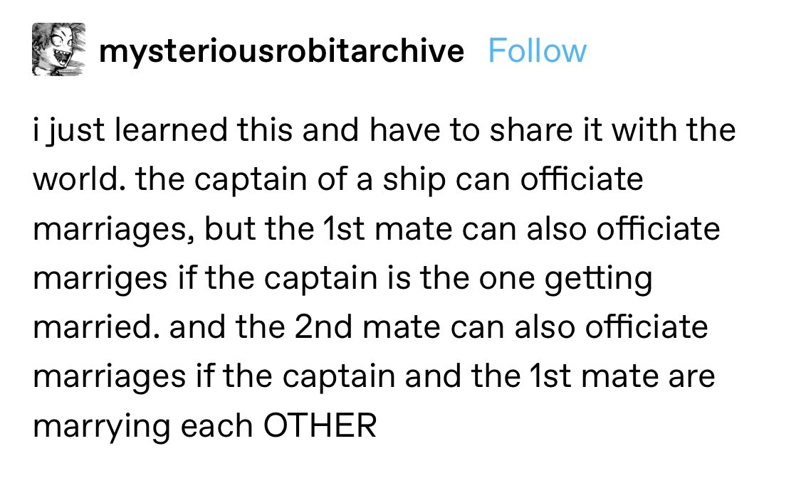 Fjord and Beau not being able to be each other's best man because they're the ones officiating each other's wedding