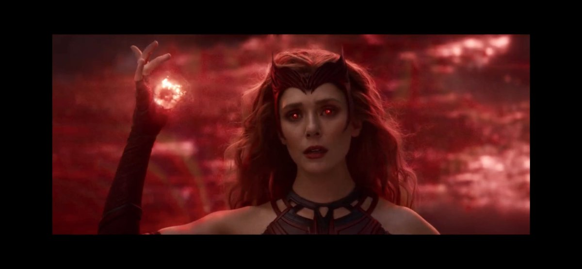 The Scarlet Witch is so badass! Cannot believe these pics 🤯🧱 #WandaVisionFinale #WandaVision