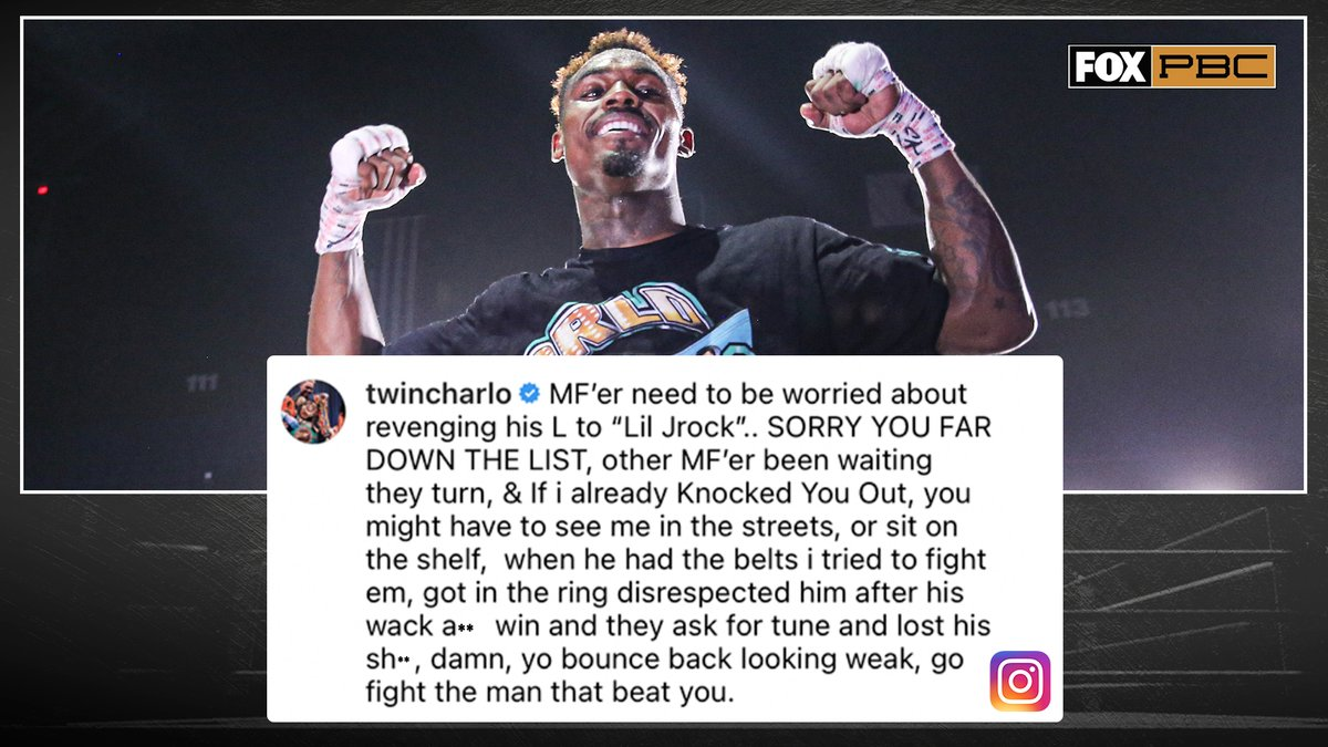 Replying to @PBConFOX: Unified 154-lb Champ Jermell Charlo responds to Jarrett Hurd's comments on wanting a fight 👀