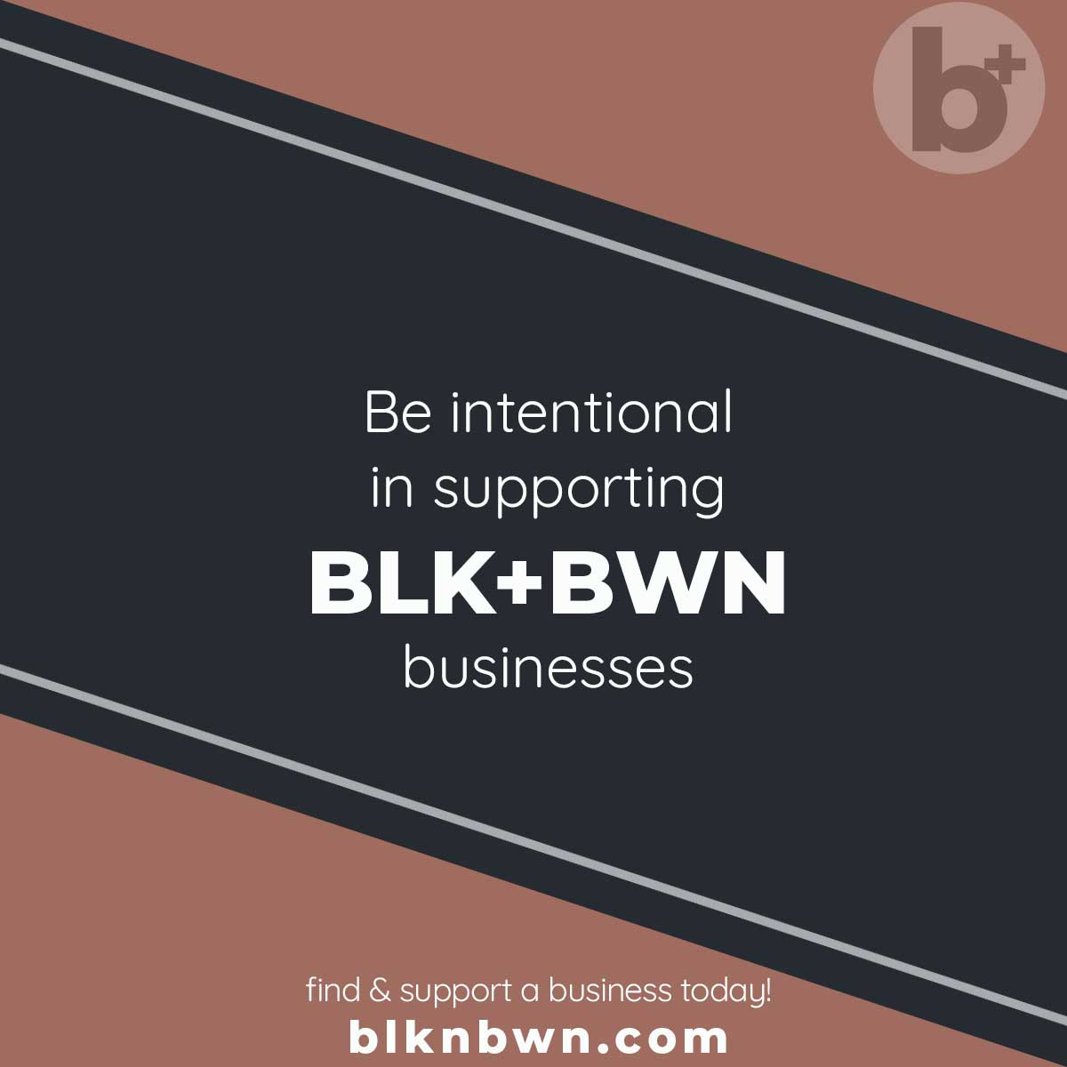 Be intentional in supporting Blk+Bwn businesses and using us as your go-to guide  #blknbwn A Network That Connects!  #blackexcellence #blackknowledge #blackartist  #supportlocal #blackart #blackculture