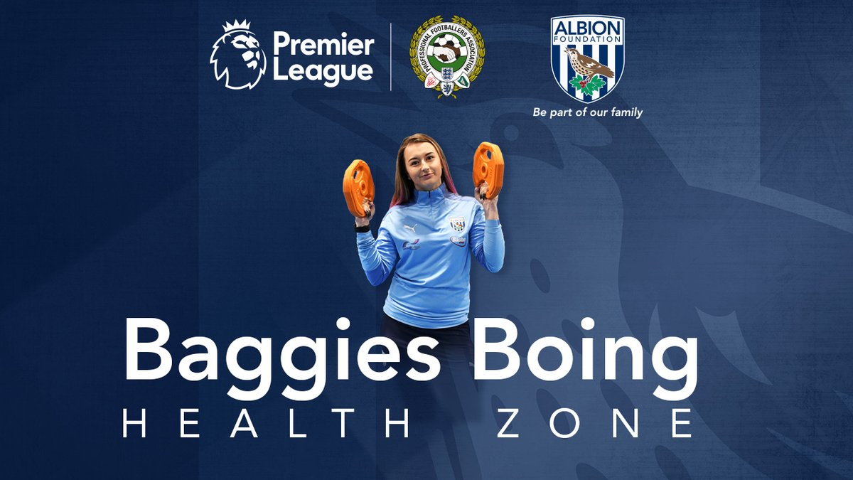 Come and join our Baggies Boing Health Zone!  - Over 50's Fitness ✔️ - Dad & Daughter Sessions ✔️ - Family Fitness ✔️  For information click the below 👇