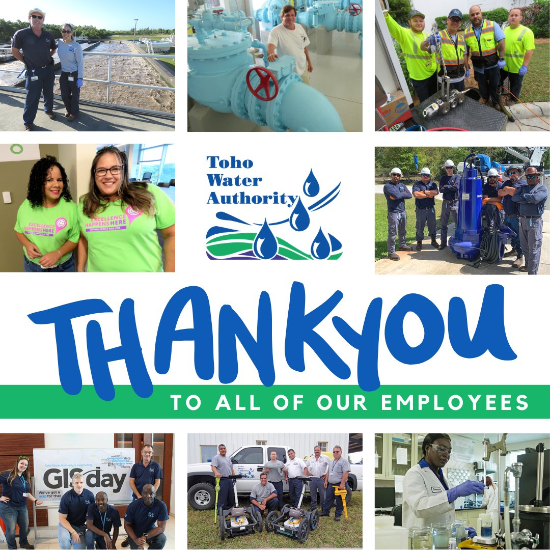 Toho THANKS our dedicated 300+ team members! It may be #EmployeeAppreciationDay, but you are appreciated every day of the year. #TohoCares