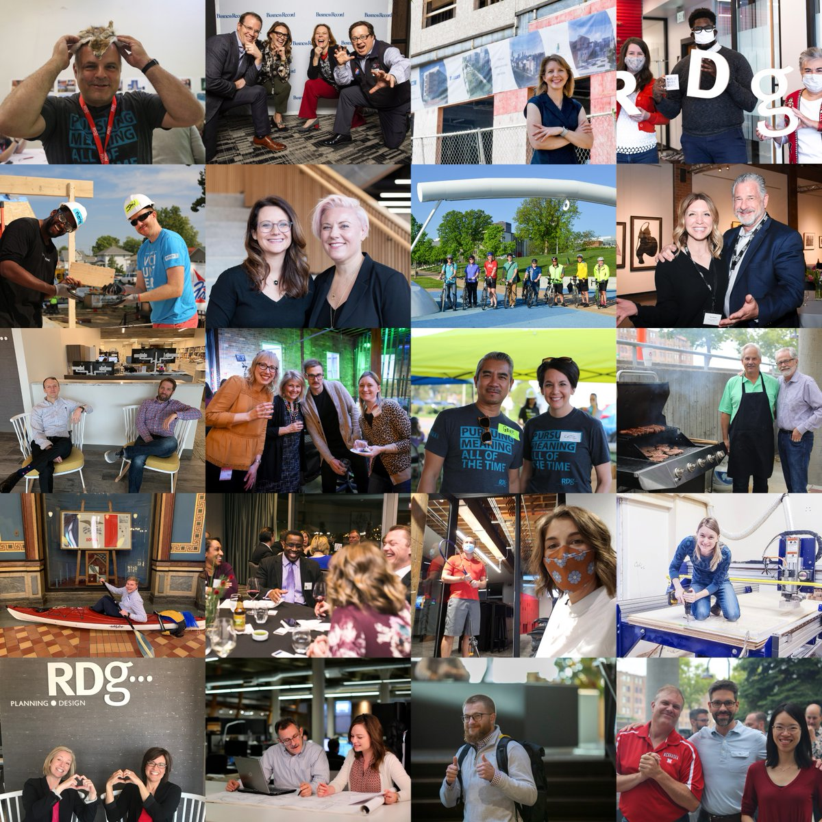 On this #EmployeeAppreciationDay, we want to thank each and every one of our incredible RDGers. The work we do is meaningful because we create it together!   #RealLifeAtRDG #ThankYou #WorkAtRDG #EmployeeAppreciation #CreateMeaningTogether