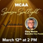 Image for the Tweet beginning: Don't miss MCAA's Sponsor Spotlight