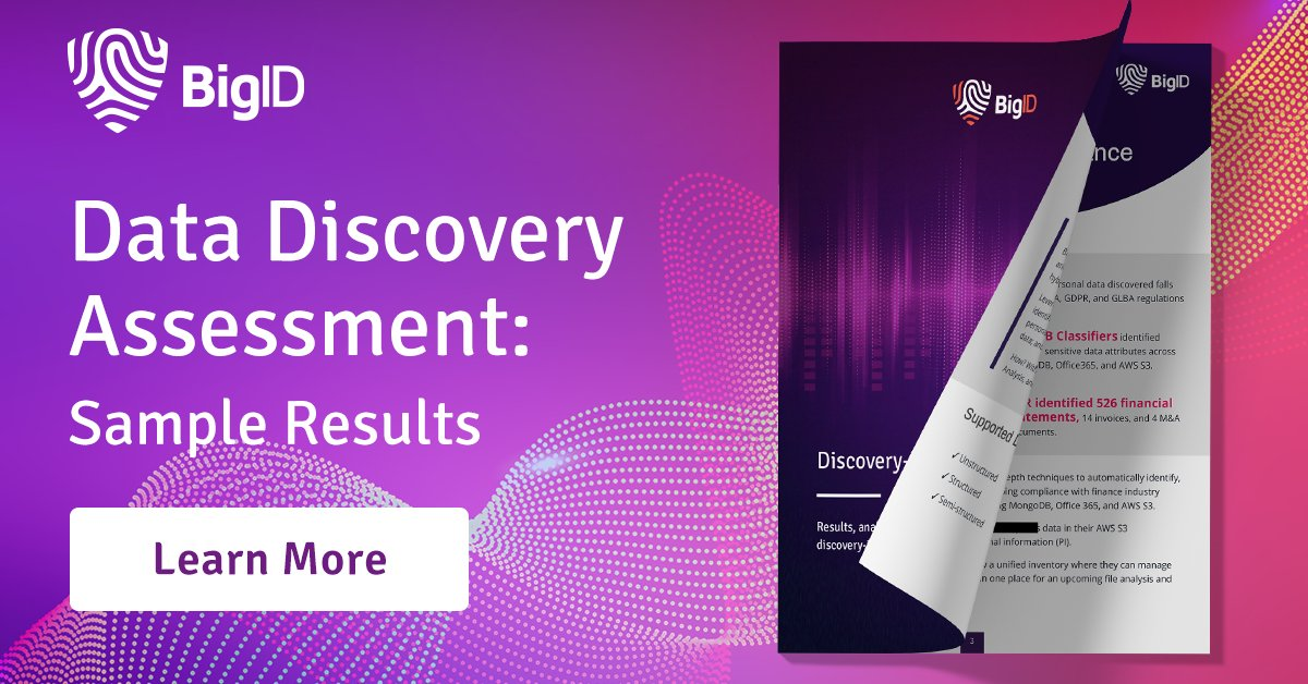 Learn how our revolutionary #DiscoveryInDepth leverages 4C's to deliver actionable takeaways that will help you uncover duplicate & vulnerable #Data. Access key findings & results with this sample report >>  #DataManagement #DataDriven #DataDiscovery