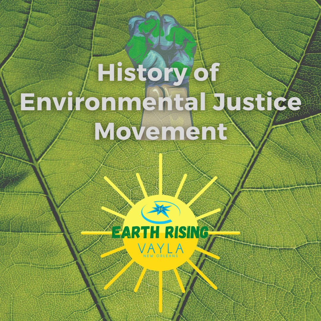 Where did the environmental justice movement come from? Find out the movement's history below! #AAPIrising #earthrisingvayla #environmentaljustice #environmentaleducation #environmentalactivism #climatechange #climateaction #climatecrisis #MovementWork #grassrootsorganizing