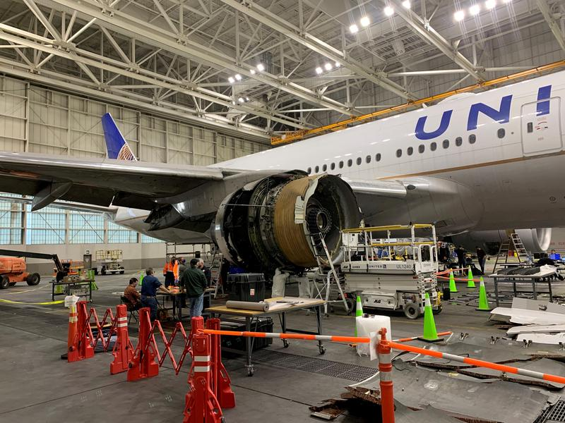United 777 plane flew fewer than half of flights allowed between checks - NTSB