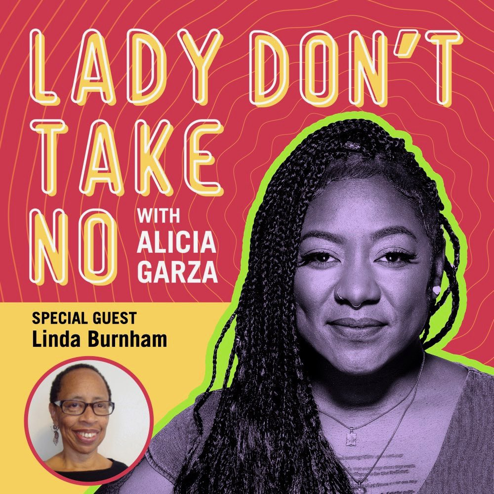 LOVE THIS EPISODE of @lady_take with the great Linda Burnham — join us as we talk across generations about life, politics, aging, and what we can learn about each other to get a little more free #AllOfTheReal #DoWhatchaLike