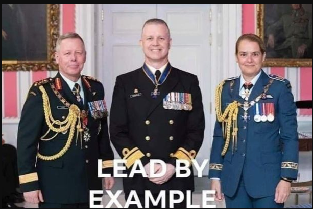 This meme is circulating among some at National Defence Headquarters in Ottawa.